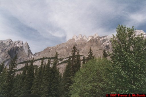 U.S.A.~Canada 666 ~ Alberta 167 ~ From Lake Louise To Athabasca Glacier 80