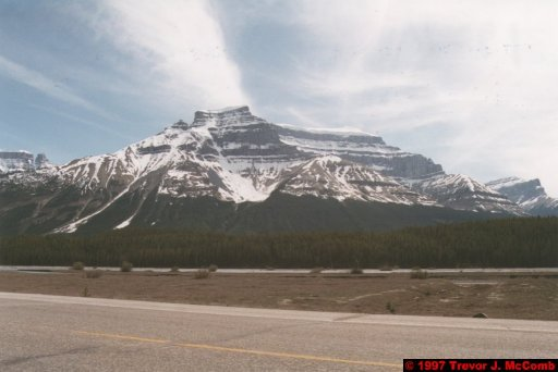 U.S.A.~Canada 672 ~ Alberta 173 ~ From Lake Louise To Athabasca Glacier 86