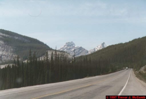 U.S.A.~Canada 675 ~ Alberta 176 ~ From Lake Louise To Athabasca Glacier 89