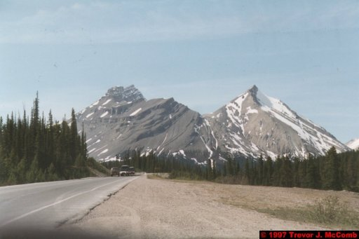 U.S.A.~Canada 680 ~ Alberta 181 ~ From Lake Louise To Athabasca Glacier 94