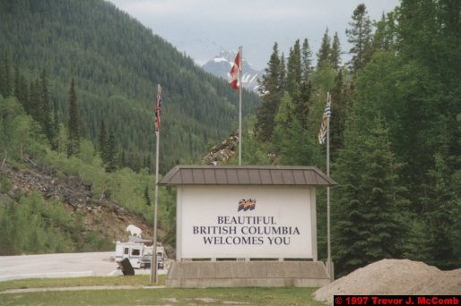 U.S.A.~Canada 744 ~ British Columbia 481 ~ From Jasper To Kamloops 02