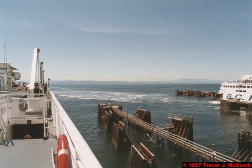 U.S.A.~Canada 832 ~ British Columbia 569 ~ From Vancouver To Nanaimo 02