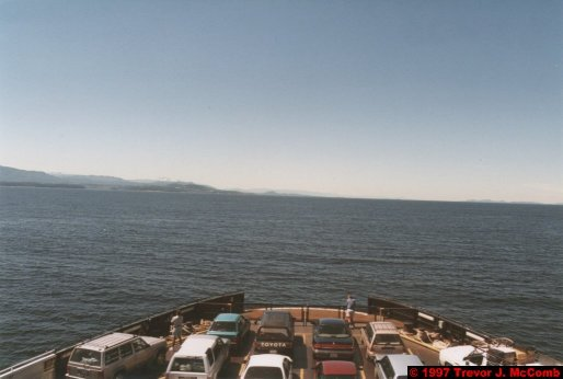 U.S.A.~Canada 845 ~ British Columbia 582 ~ From Vancouver To Nanaimo 15