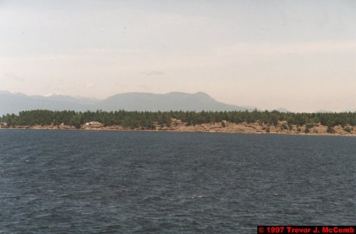 U.S.A.~Canada 847 ~ British Columbia 584 ~ From Vancouver To Nanaimo 17