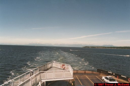 U.S.A.~Canada 853 ~ British Columbia 590 ~ From Vancouver To Nanaimo 23