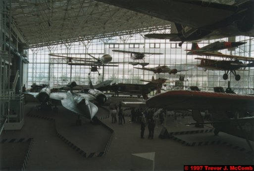 U.S.A.~Canada 951 ~ Washington 61 ~ Seattle 21 ~ Museum Of Flight 1