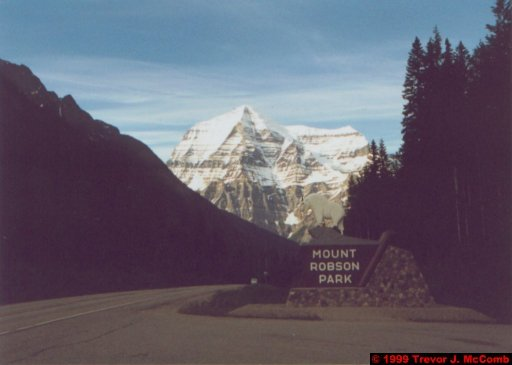 Canada 024 ~ British Columbia 24 ~ Mount Robson National Park 4 ~ Mount Robson 4