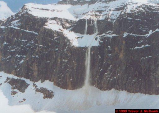 Canada 065 ~ Alberta 037 ~ Jasper National Park 37 ~ Mount Edith Cavell 13 ~ Falling Snow 2