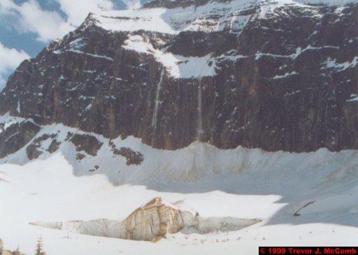 Canada 066 ~ Alberta 038 ~ Jasper National Park 38 ~ Mount Edith Cavell 14 ~ Falling Snow 3