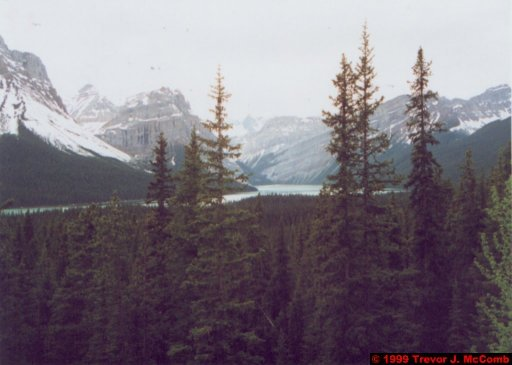 Canada 134 ~ Alberta 106 ~ Banff National Park 19 ~ From Moraine Lake To Lake Louise 2