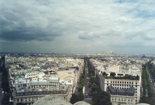 France 024 ~ Ile-de-France 024 ~ Paris 024 ~ 8e Arr 05 ~ L'Arch de Triomphe 06 ~ View North-East