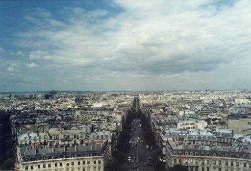 France 025 ~ Ile-de-France 025 ~ Paris 025 ~ 8e Arr 06 ~ L'Arch de Triomphe 07 ~ View North
