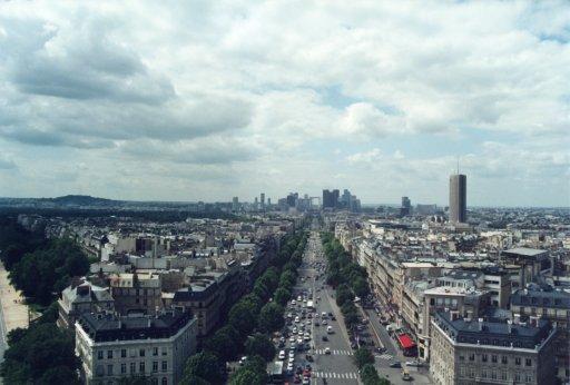 France 027 ~ Ile-de-France 027 ~ Paris 027 ~ 8e Arr 08 ~ L'Arch de Triomphe 09 ~ View West North-West