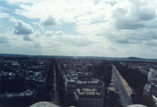 France 028 ~ Ile-de-France 028 ~ Paris 028 ~ 8e Arr 09 ~ L'Arch de Triomphe 10 ~ View West South-West