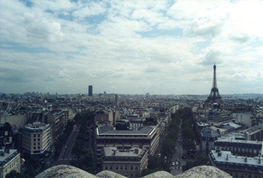 France 031 ~ Ile-de-France 031 ~ Paris 031 ~ 8e Arr 12 ~ L'Arch de Triomphe 13 ~ View South-East ~ Tour Eiffel 03