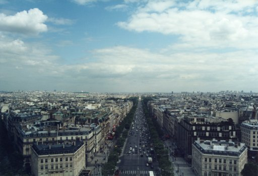 France 032 ~ Ile-de-France 032 ~ Paris 032 ~ 8e Arr 13 ~ L'Arch de Triomphe 14 ~ View East South-East ~ Avenue Des Champs Élysées 5
