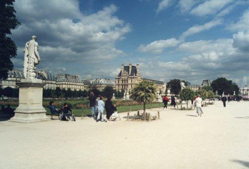 France 034 ~ Ile-de-France 034 ~ Paris 034 ~ 1er Arr. 11 ~ Jardin des Tuileries 1 ~ Musée du Louvre 01