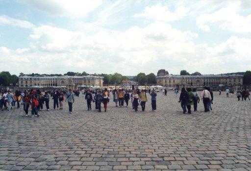 France 046 ~ Ile-de-France 046 ~ Versailles 02 ~ Palais de Versailles 02 ~ Cour des Ministres 1