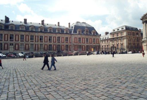 France 048 ~ Ile-de-France 048 ~ Versailles 04 ~ Palais de Versailles 04 ~ Cour des Ministres 3