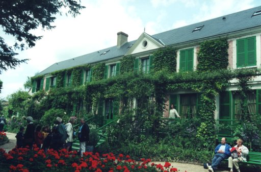 France 116 ~ Hute-Normandie 24 ~ Giverny 24 ~ Musée Claude Monet 24 ~ Garden 14 ~ House 1