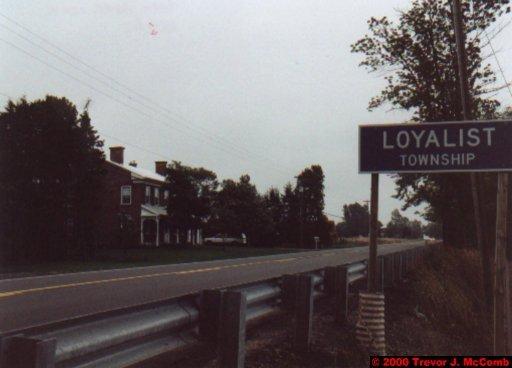 Canada~U.S.A. 006 ~ Ontario 06 ~ Prince Edward County 03 ~ Loyalist Township
