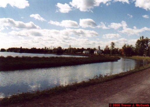 Canada~U.S.A. 053 ~ Ontario 53 ~ Upper Canada Village 04 ~ Canal 4
