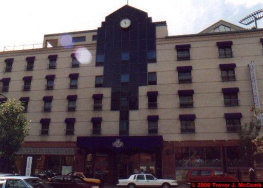 Canada~U.S.A. 111 ~ Québec 28 ~ Montréal 28 ~ Hotel (03) Best Western Europa-Downtown 4