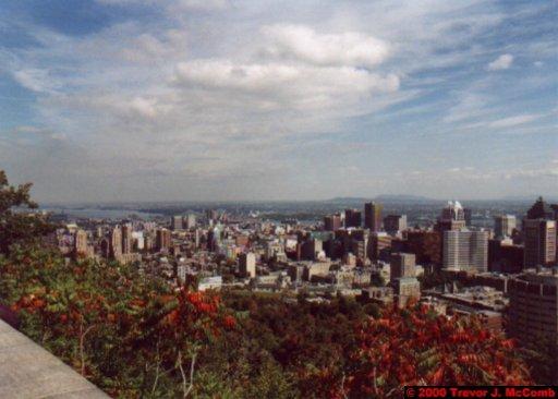 Canada~U.S.A. 115 ~ Québec 32 ~ Montréal 32 ~ From Mount Royal 3