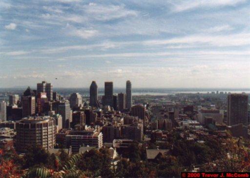 Canada~U.S.A. 116 ~ Québec 33 ~ Montréal 33 ~ From Mount Royal 4