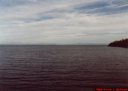 Canada~U.S.A. 123 ~ New York State 2 ~ Lake Champlain 01