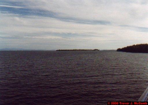 Canada~U.S.A. 126 ~ New York State 5 ~ Lake Champlain 04