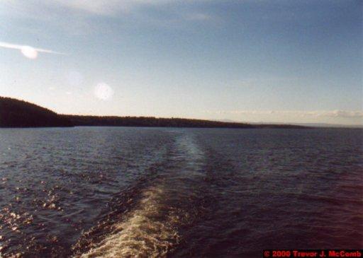 Canada~U.S.A. 127 ~ New York State 6 ~ Lake Champlain 05