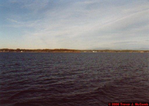 Canada~U.S.A. 131 ~ Vermont 001 ~ Lake Champlain 09