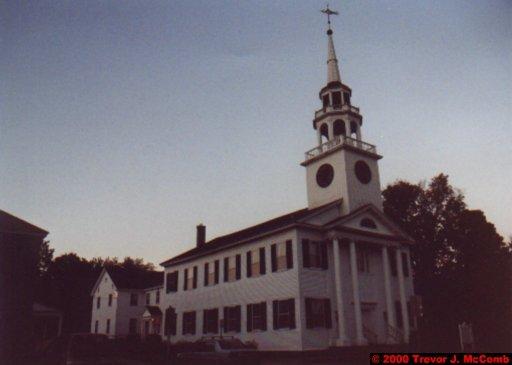 Canada~U.S.A. 170 ~ Vermont 040 ~ Norwich 2 ~ Church Building 1