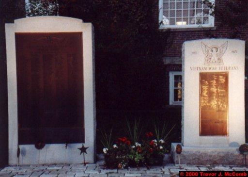 Canada~U.S.A. 172 ~ Vermont 042 ~ Norwich 4 ~ Tracy Hall 2 ~ War Memorial 1