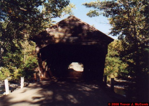Canada~U.S.A. 208 ~ New Hampshire 031 ~ Kancamagus Highway 24 ~ Covered Bridge 01