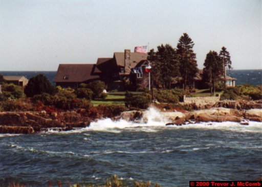 Canada~U.S.A. 323 ~ Maine 30 ~ Kennebunkport 29 ~ Walker's Point 4