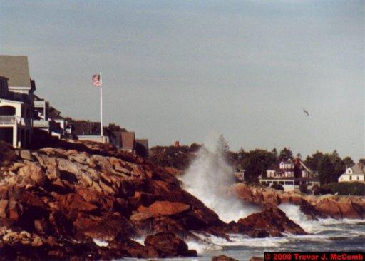Canada~U.S.A. 341 ~ Maine 48 ~ York Beach 8