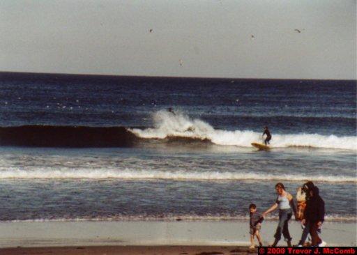 Canada~U.S.A. 343 ~ Maine 50 ~ York Beach 10 ~ Surfers 2