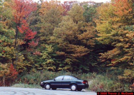 Canada~U.S.A. 447 ~ Vermont 106 ~ Hire Car