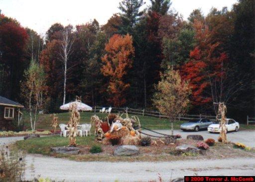 Canada~U.S.A. 472 ~ Vermont 131 ~ Halloween Display 3