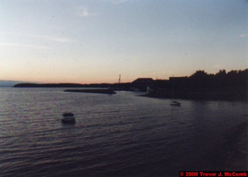 Canada~U.S.A. 482 ~ Vermont 141 ~ Burlington 08 ~ Lake Champlain 13