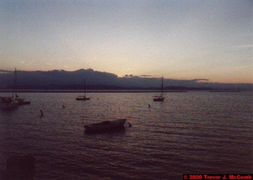 Canada~U.S.A. 483 ~ Vermont 142 ~ Burlington 09 ~ Lake Champlain 14