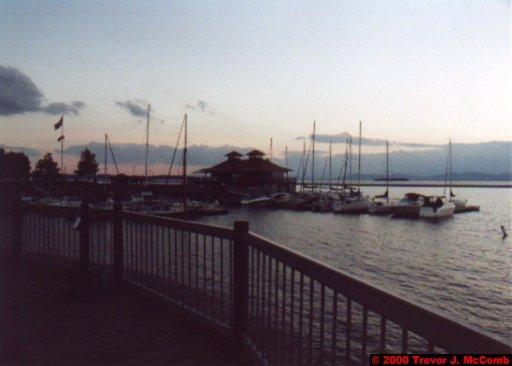 Canada~U.S.A. 484 ~ Vermont 143 ~ Burlington 10 ~ Lake Champlain 15