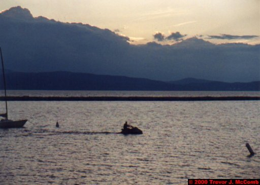 Canada~U.S.A. 485 ~ Vermont 144 ~ Burlington 11 ~ Lake Champlain 16