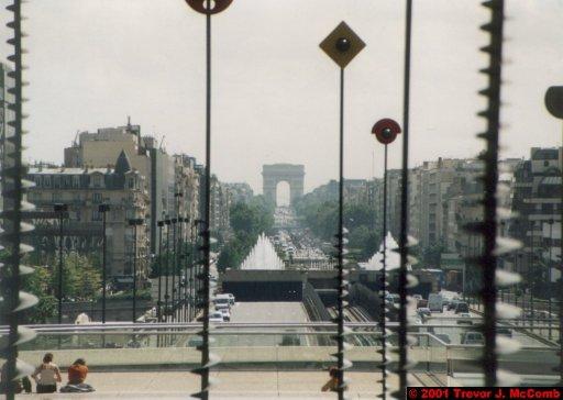 France 003 ~ Ile-de-France 003 ~ Paris 03 ~ La Défense 03 ~ Esplanade de la Défense 03 ~ Sculptures 3 ~ L'Arch de Triomphe 01