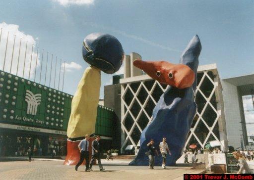 France 018 ~ Ile-de-France 018 ~ Paris 18 ~ La Défense 18 ~ Place de la Défense 06 ~ Grande Arche 07  ~ Sculpture
