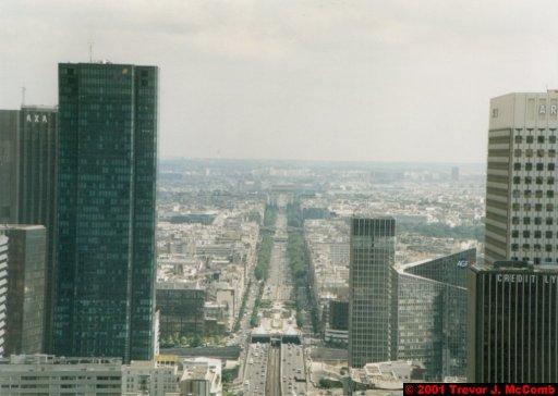 France 026 ~ Ile-de-France 026 ~ Paris 26 ~ La Défense 26 ~ Grande Arche (View From) 03 ~ Avenue Charles de Gaulle