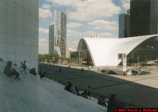 France 028 ~ Ile-de-France 028 ~ Paris 28 ~ La Défense 28 ~ Grande Arche (View From) 05 ~ Place de la Défense 15