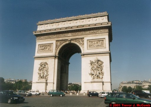 France 033 ~ Ile-de-France 033 ~ Paris 33 ~ Place Charles de Gaulle 1 ~ L'Arch de Triomphe 03